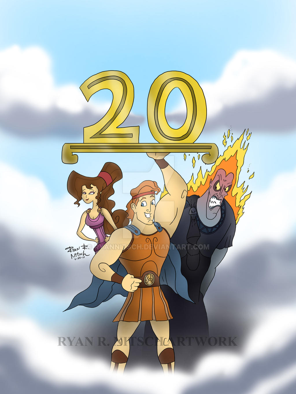 20 Years of Disney's Hercules by RyanNitsch