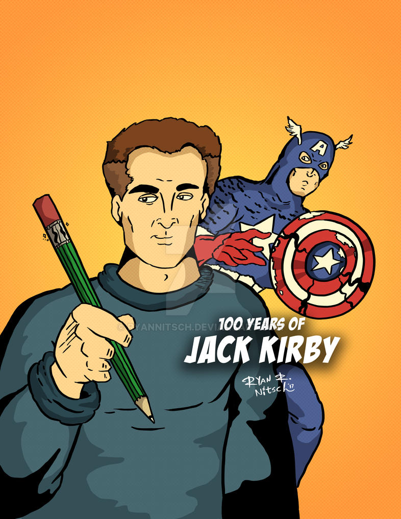 MARVEL COMICS Jack Kirby Tribute - Ryan Nitsch by RyanNitsch