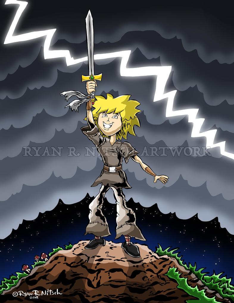 Warrior Boy - Ryan R. Nitsch by RyanNitsch
