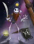 Jack Skellington Pirate - Ryan R. Nitsch