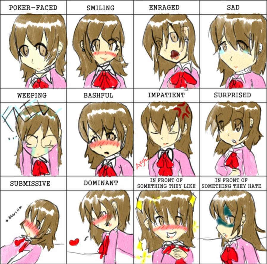 Yukari Takeba Wallpaper Expression Meme: Yukar...