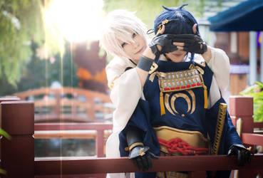 Touken Ranbu-Mikazuki Munechika cosplay by AliceInmetalland