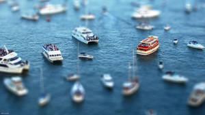 TiltShift Sydney Harbor FullHD