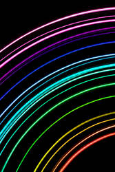 Rainbow Lightrail by creativity103
