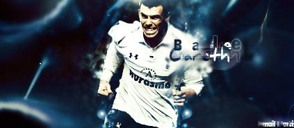 Gareth Bale - Footy Sig by MarocanoART