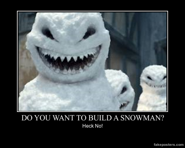 Do you want to build a snowman by mickxbeth2012 on deviantart for I want to make a snowman