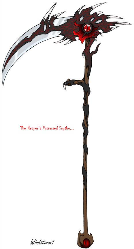 Weapon; DarkSoul; The Dark Scythe Possessed_Scythe_in_Photoshop_by_Windstorm1