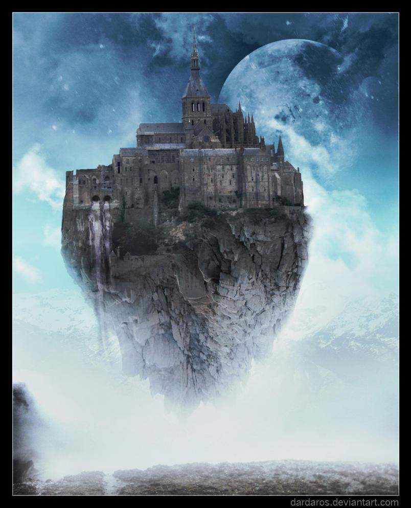 Floating Castle by dar...