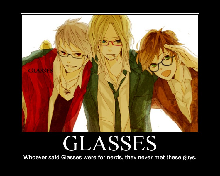 APH Poster: Glasses by LOVlNO