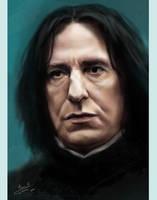 Severus Snape by AnnaFromTheTrain