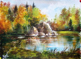 Autumn by AnnaFromTheTrain