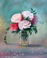 roses by AnnaFromTheTrain