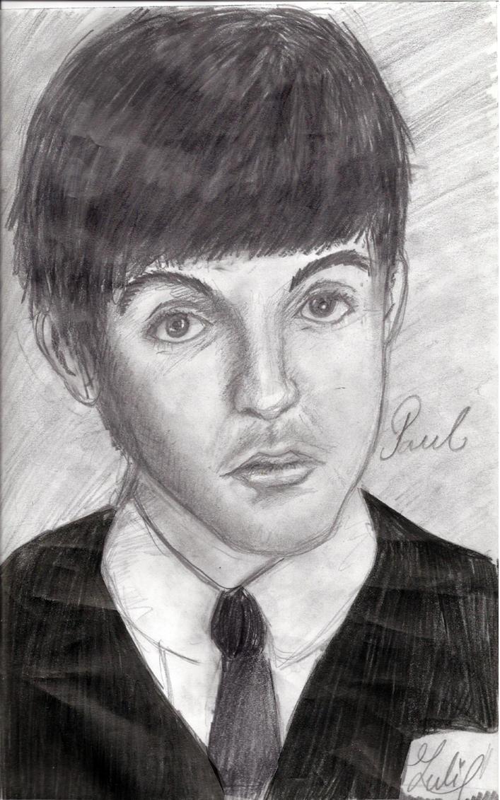 Paul McCartney portrait by hAmster-pOny