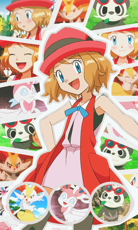 Pokemon Serena Wallpaper