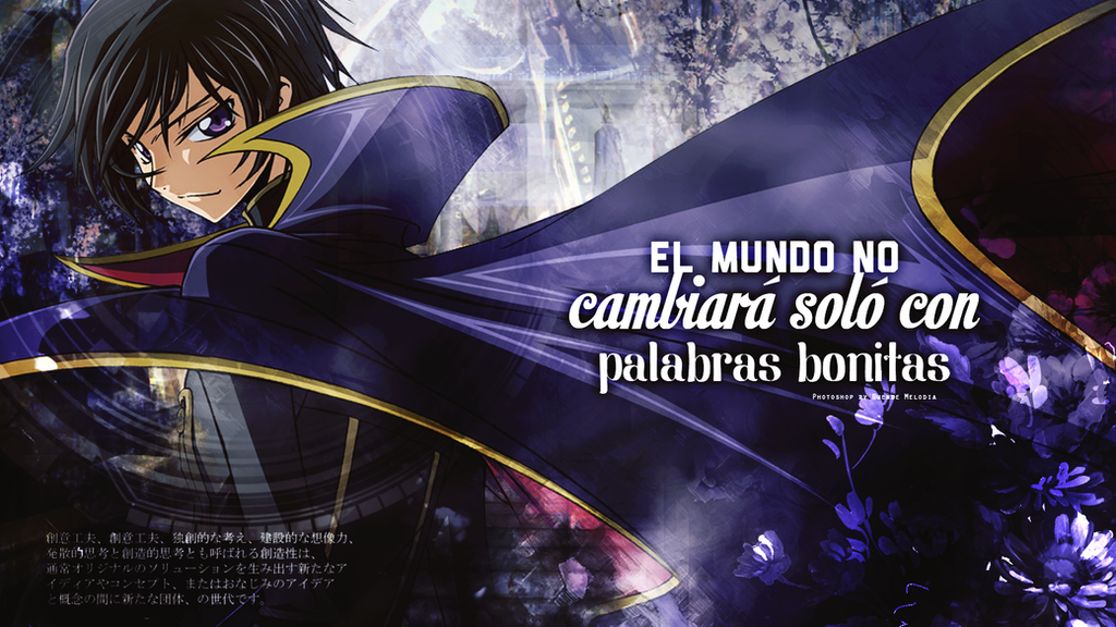 041216 // Lelouch - Code Geass [Wallpaper] by Awesome-Yuuko-San