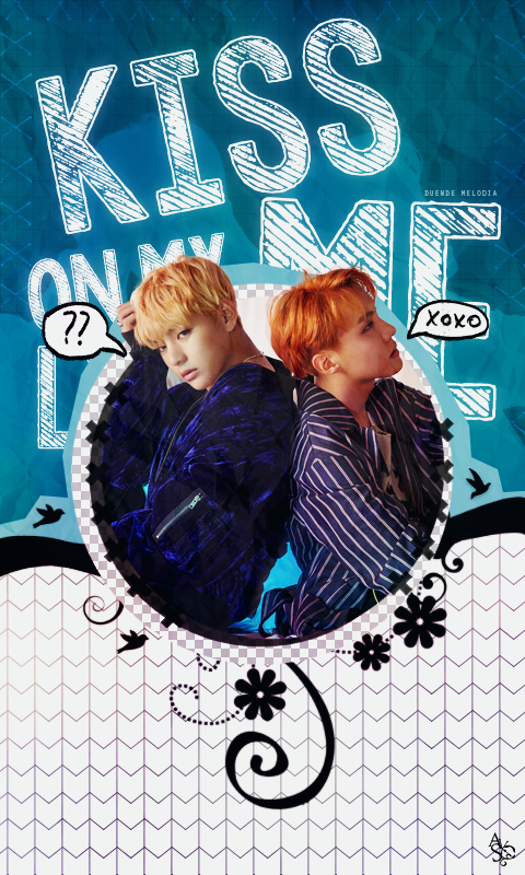 080117 // Vhope - BTS [Wallpaper] by Awesome-Yuuko-San on ...