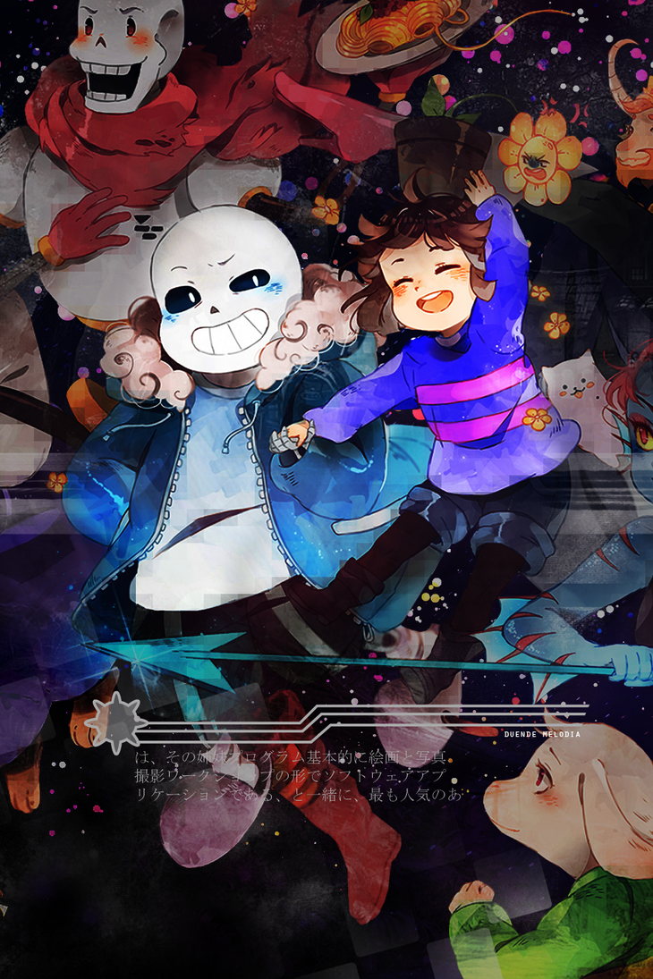 Undertale [Wallpaper] by Awesome-Yuuko-San