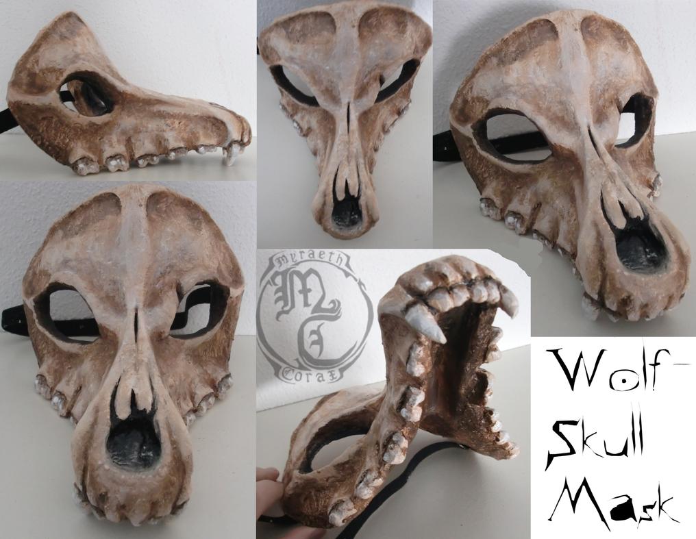 Как сделать маску волка из бумаги и картона СПРОСИ, КАК 16