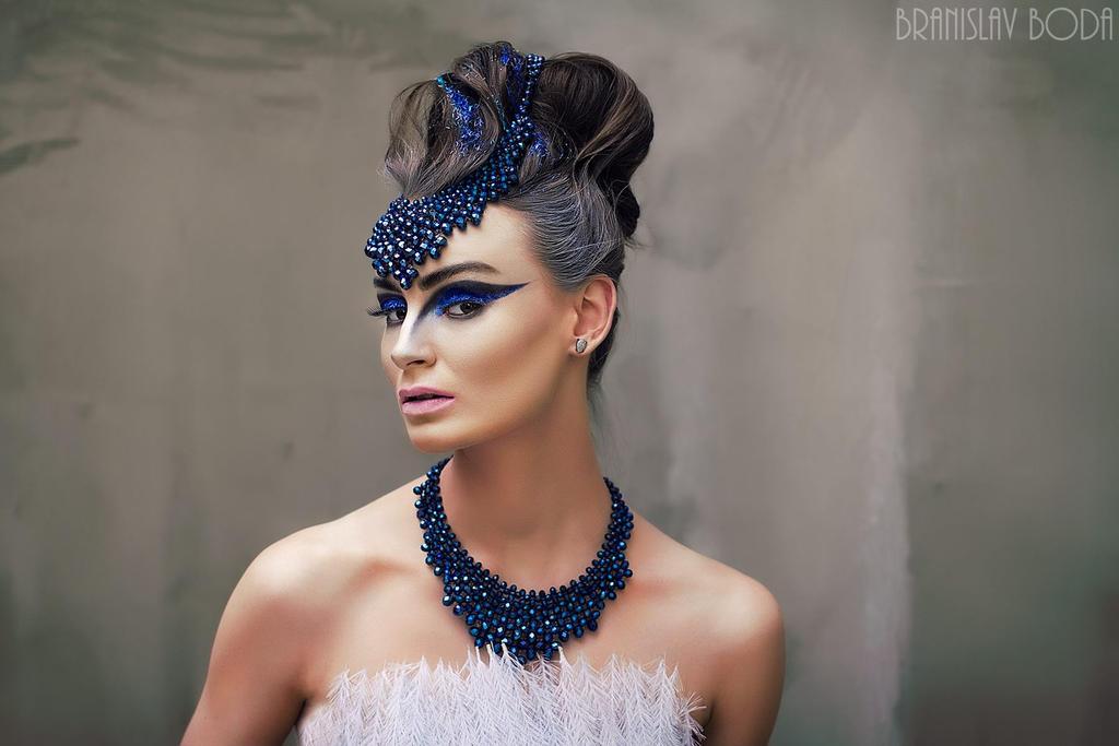 Blue swan by branislavboda
