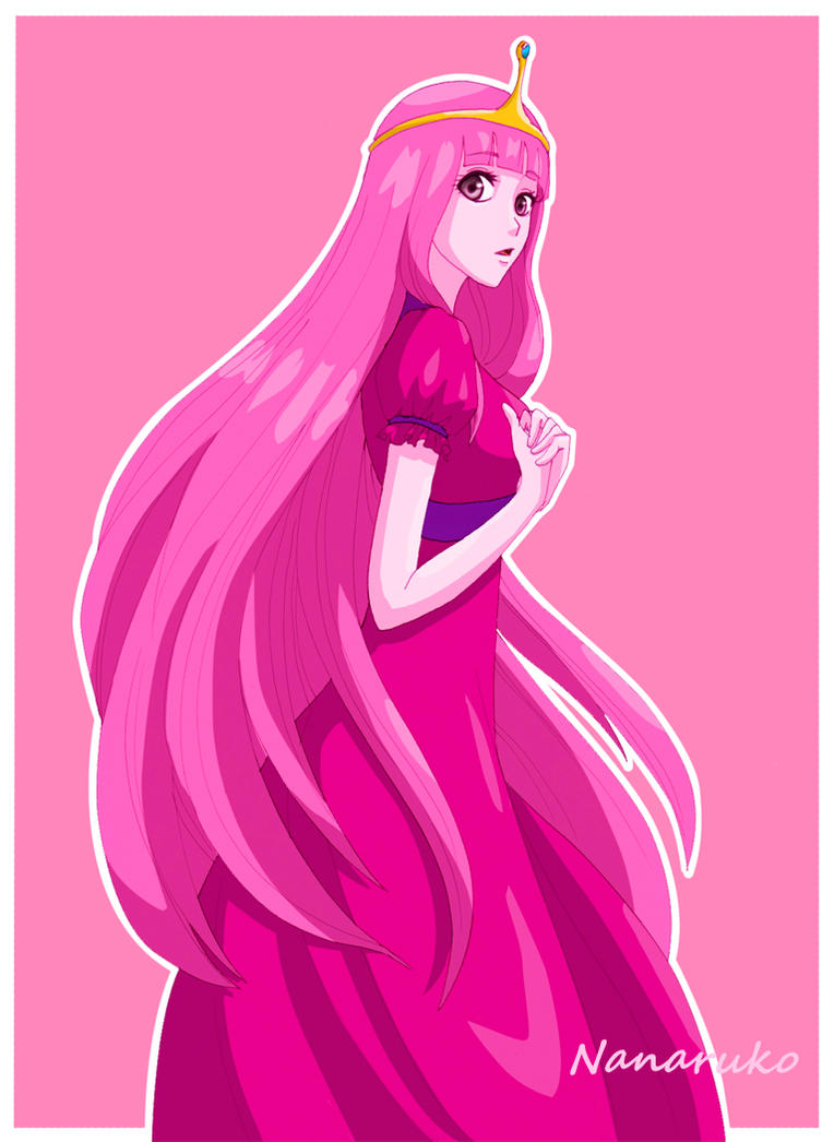 Princess Bubblegum - Adventure Time by Nanaruko on DeviantArt