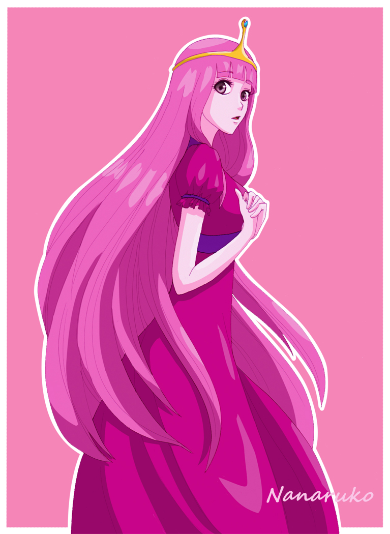 Princess Bubblegum - Adventure Time by Nanaruko