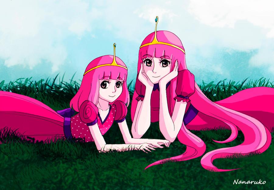 adventure-time-anime-marshall-lee-and-princess-bubblegum