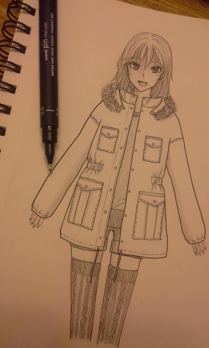 Dibujo random(?) by Nanaruko