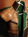 Loki Cosplay: Completed Jacket