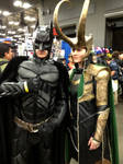 The God of Mischief and The Dark Knight