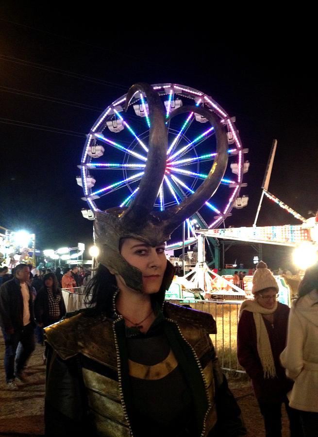 Loki- What's a Ferris Wheel? by LaneDevlin