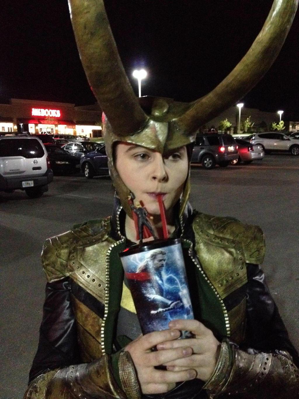 Loki Thor 2 Costume
