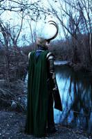 Loki Cosplay- Blue by LaneDevlin