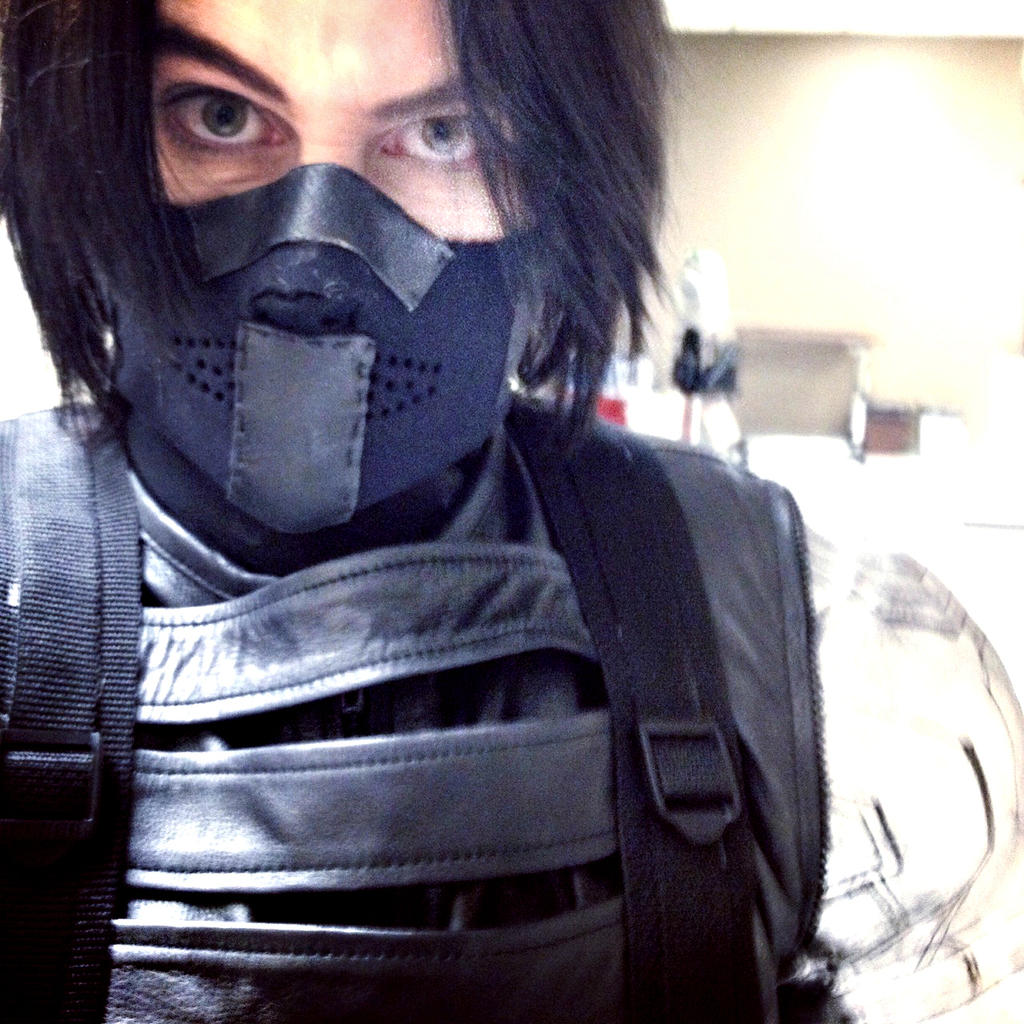 Winter Soldier Cosplay -The Winter Selfie? by LaneDevlin