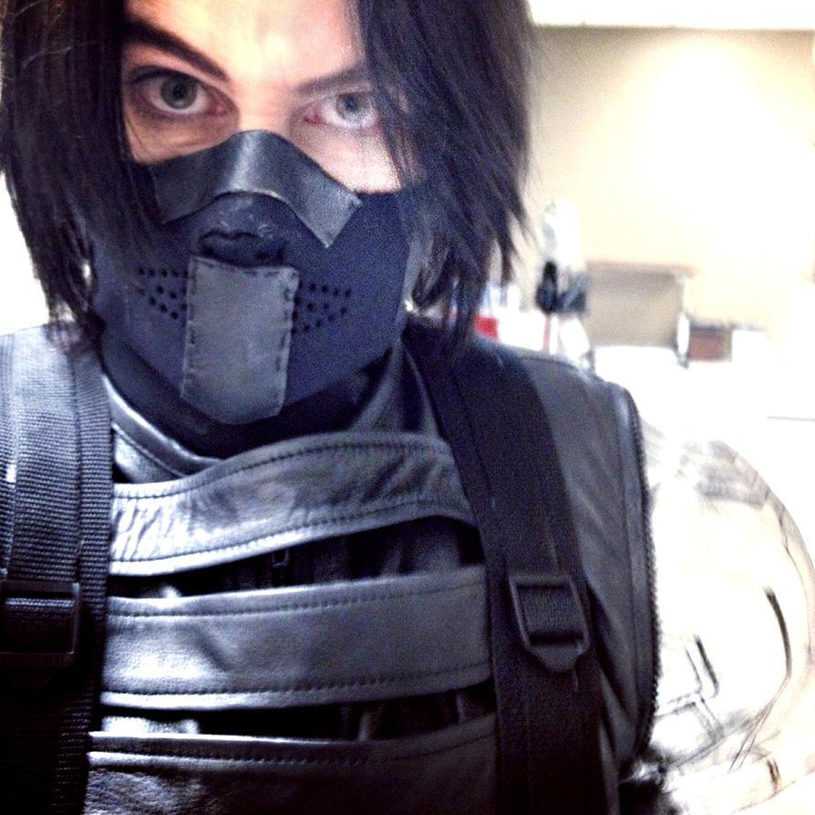 Winter Soldier Cosplay -The Winter Selfie? by LaneDevlin