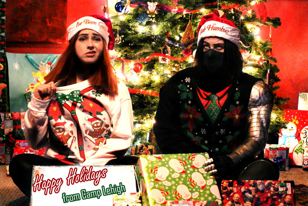 Happy Holidays from Camp Lehigh Cosplay by LaneDevlin