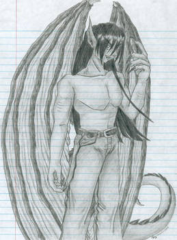 Dominic - Dragon Half-Breed