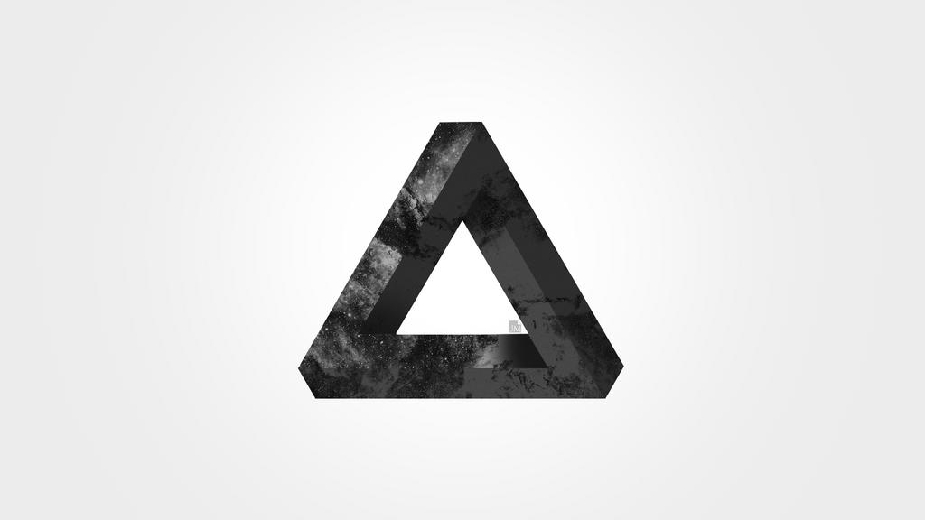 Impossible Triangle Wallpaper by ClowninPixels on DeviantArt