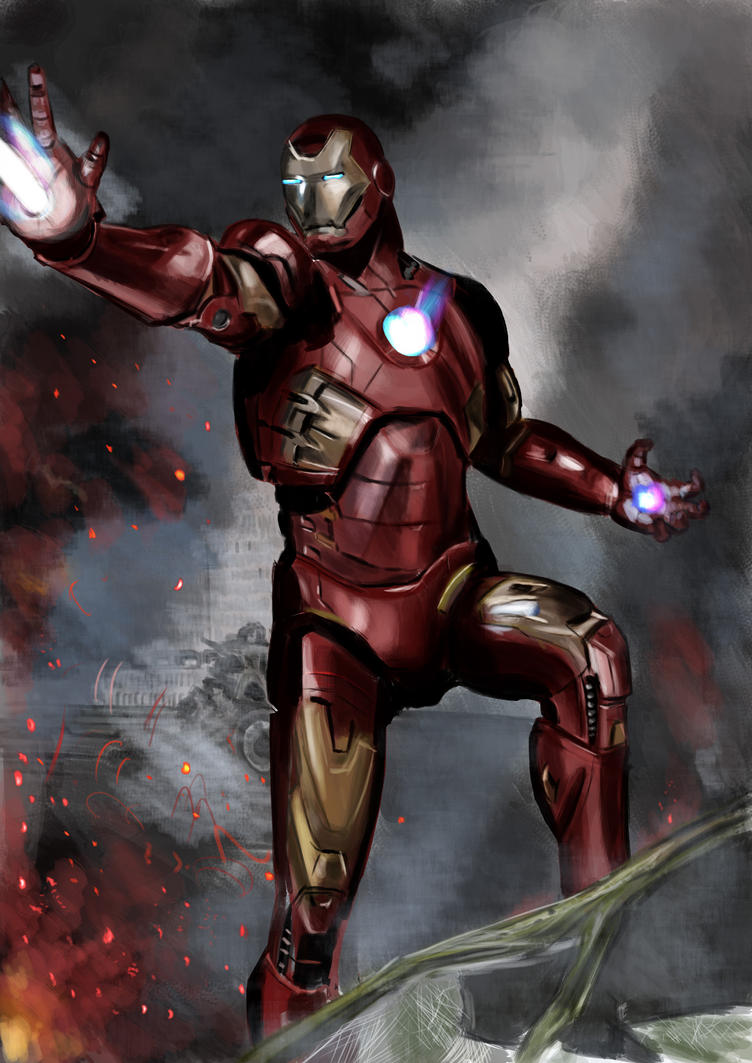 fan art iron manjeremymaffre on deviantart