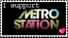 I Support METRO STATION. by TheSilverAkita