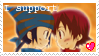 I Support: Takouji Stamp by TheSilverAkita