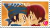 I Support: Takouji Stamp by TheSilverAkita