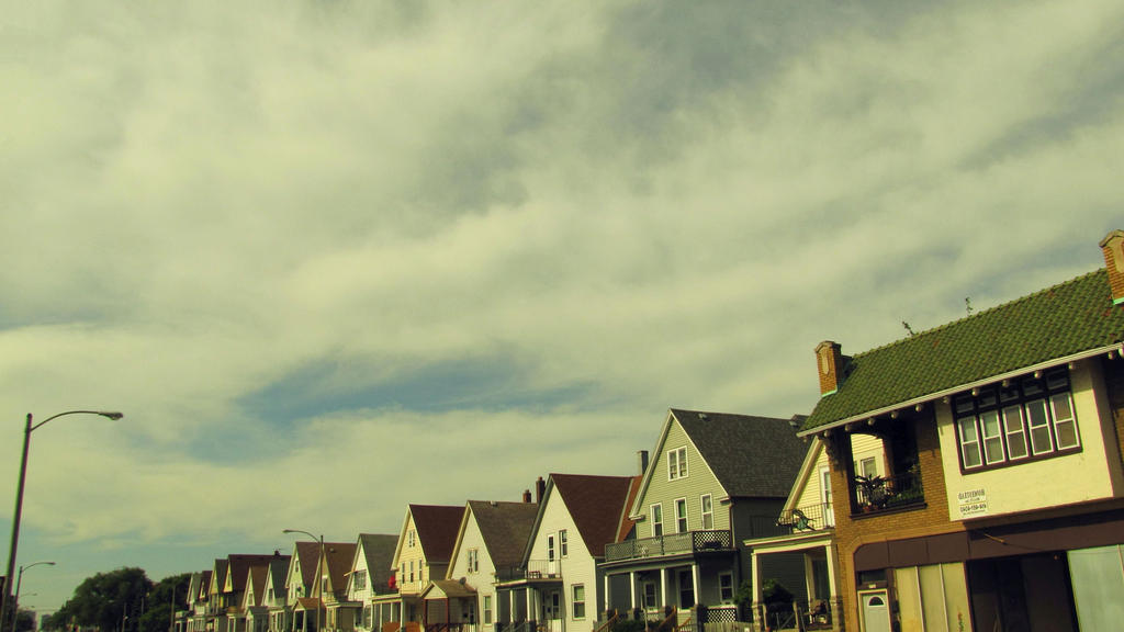 Milwaukee Rooftops by AnonymousCharles
