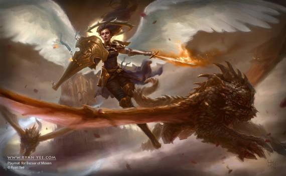 Angel Guardian by Artofryanyee