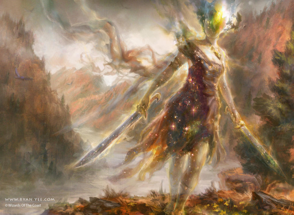 Ghostblade Eidolon by Artofryanyee