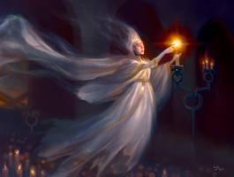 Geist of the Lonely Vigil by Artofryanyee