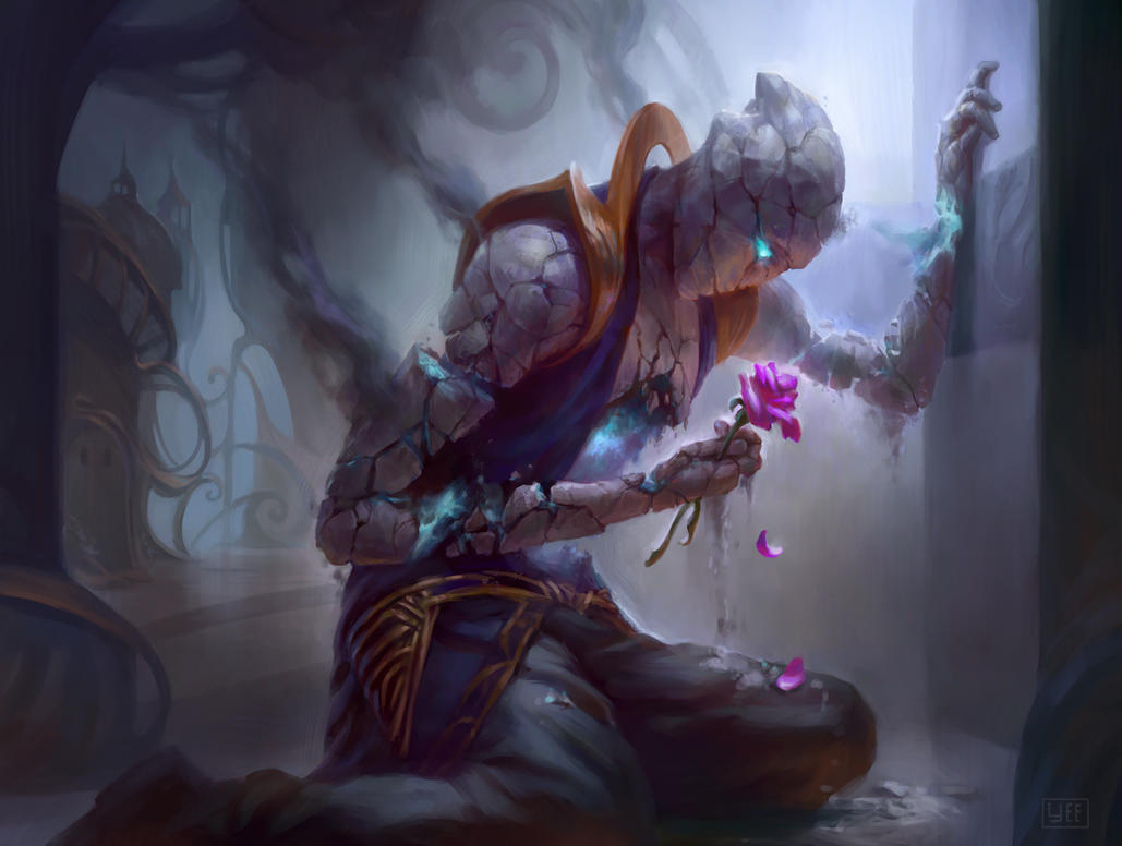die young illustration for magic the gathering by artofryanyee on