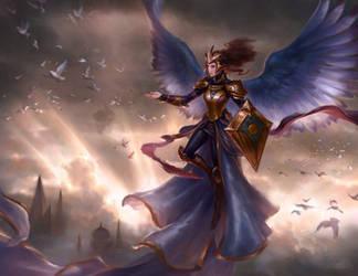 Angel of Grace by Artofryanyee