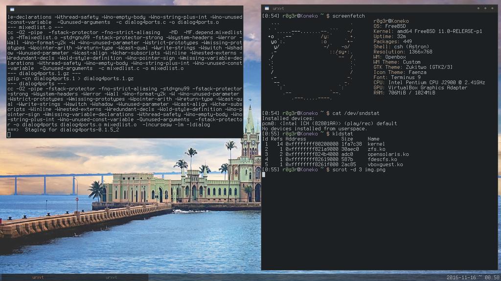 FreeBSD with Openbox by Ta7u-54w