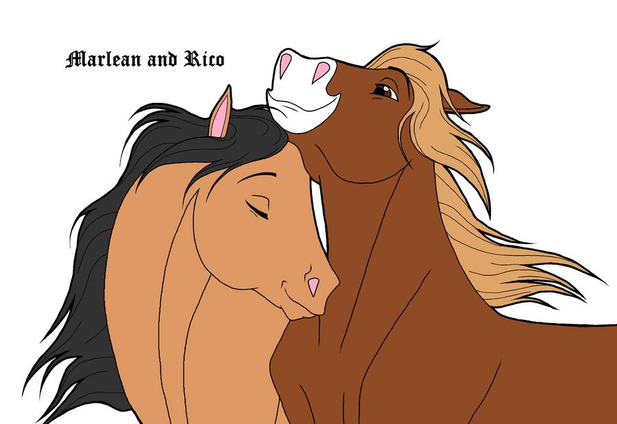 marlean and rico by petshop101