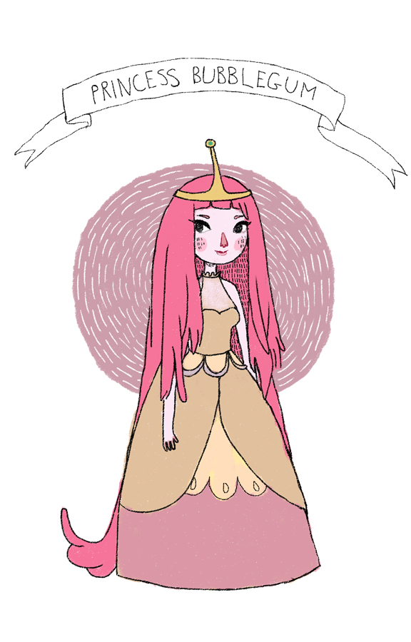 AT: Princess Bubblegum by ameliadolezal